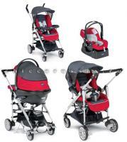 Коляска Trio For me Top (корзина, капюшон, дождевик, хозяйственная сумка, накидка для ног, автомобильное кресло...