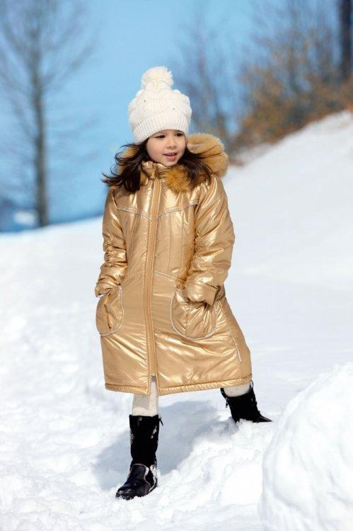 Зимнее пальто pilguni на девочку