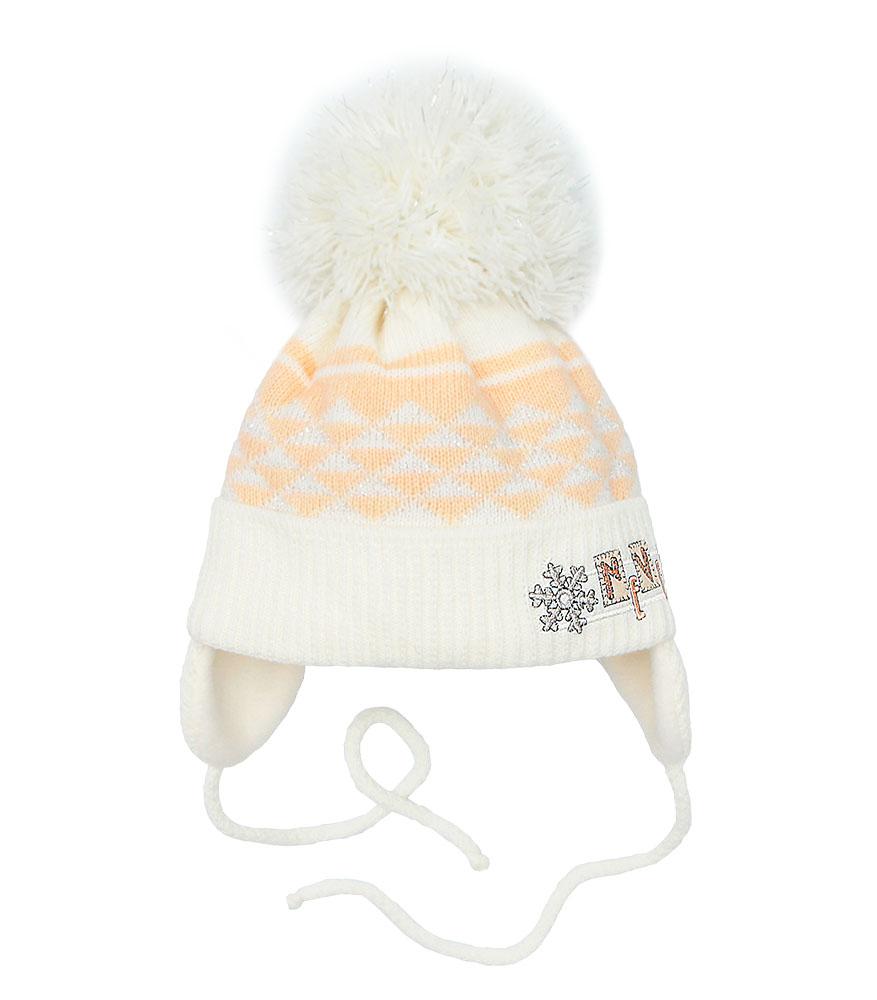 Купить Pilguni Детская шапка Пилгуни 21-501T персиковый