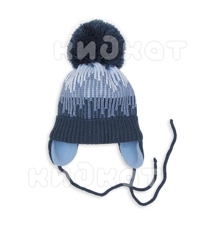 Детская шапка Pilguni 25-515 синий