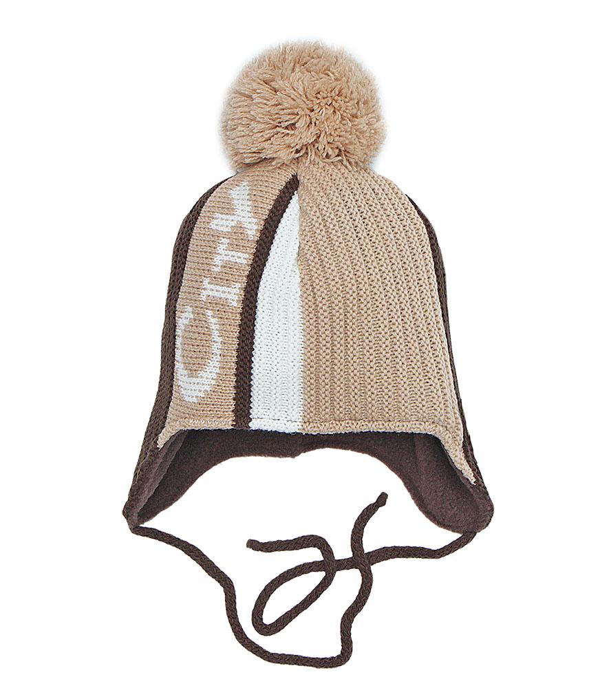 Купить Пилгуни Детская шапка Pilguni 23-735 коричневый