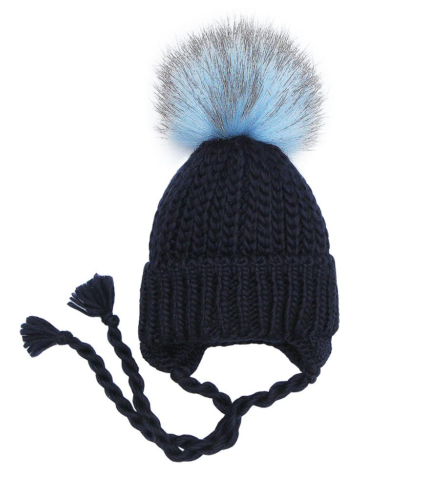 Пилгуни Детская шапка Pilguni 27-512A темно-синий