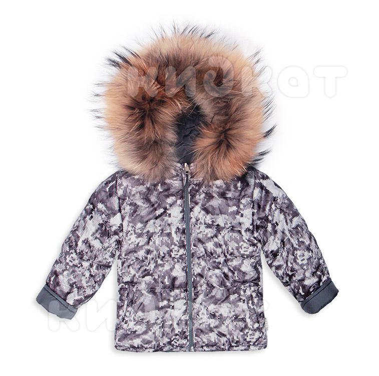 Двухсторонняя куртка Pilguni DIGITAL isosoft серый